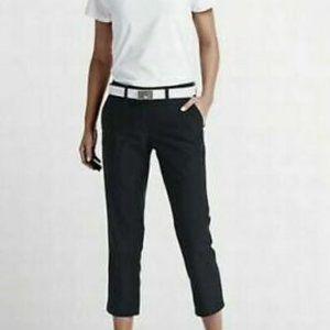 Nike Golf Tournament Dri-Fit Crop Pants Black